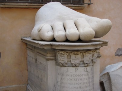 Constatine's toes