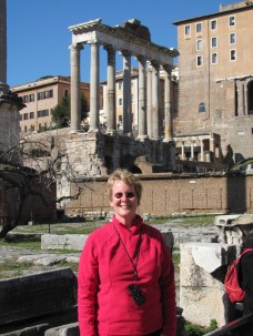 Me + Temple of Saturn