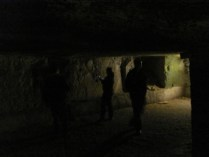 In the ancient underground cisterns