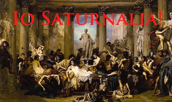 Io Saturnalia Alison Mortons Roma Nova