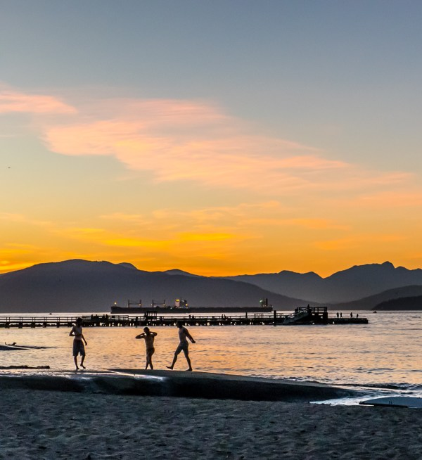 Summer In City Vancouver Jericho Beach And Park