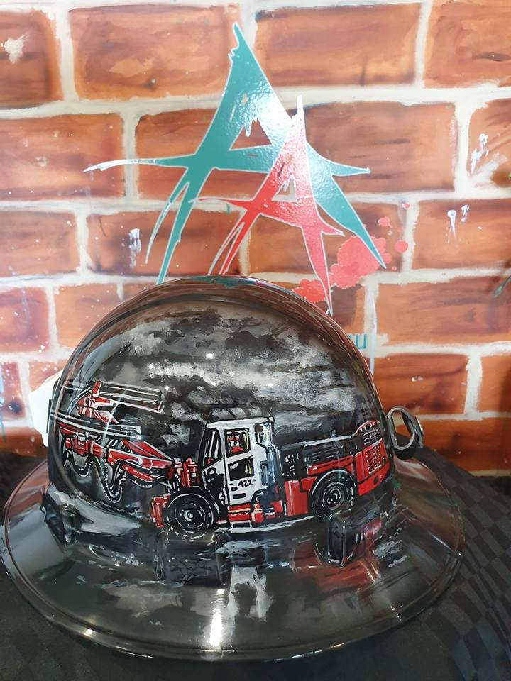 Hard Cool Painted Custom Hats