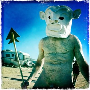 Mr Mud - Burning Man, Nevada 2011