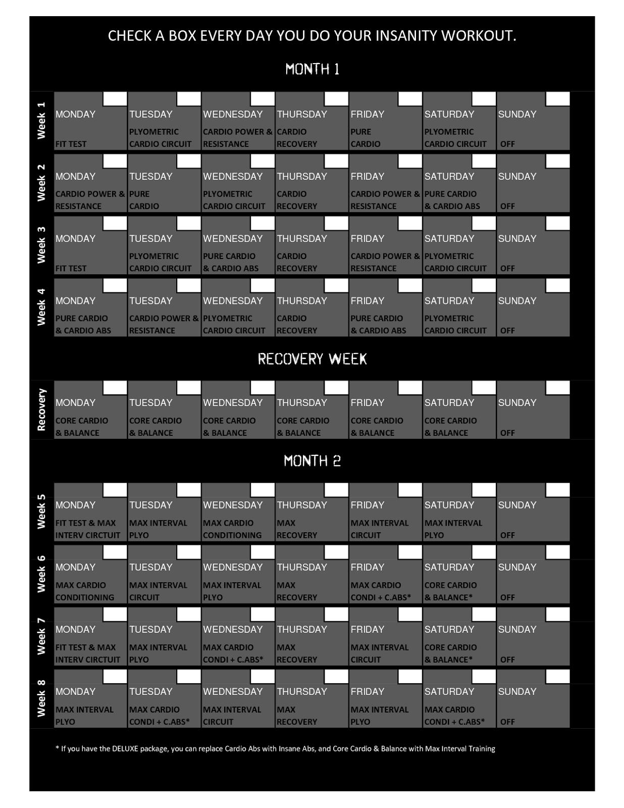 Insanity Workout Day 1 : insanity, workout, Review:, Insanity, Workout, Program, (Days, 17-60)