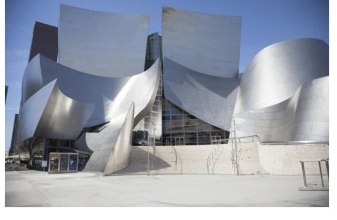 Frank Gehry's Disney Concert Hall in LA