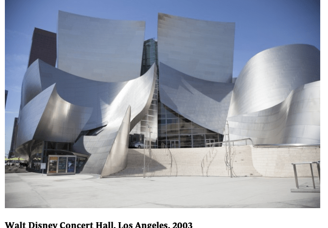 Frank Gehry's Disney Concert Hall in LA