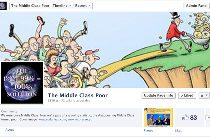 The Middle Class Poor