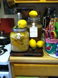 Lemon peel syrup