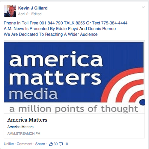 America Matter Media