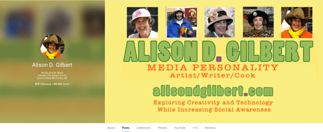 ADG Google + Page Cover