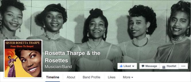 Sister Rosetta Tharpe & The Rosettes