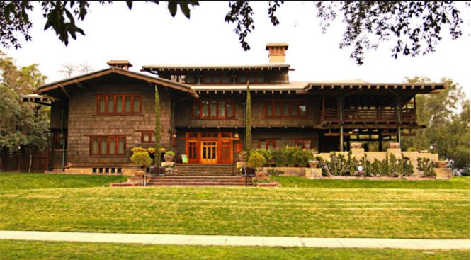 The Greene Brothers' Gamble House in Pasadena, California