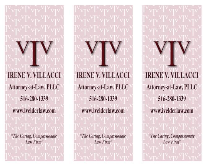 IVV Rack Card