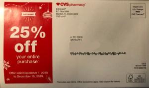 cvs coupon mailer