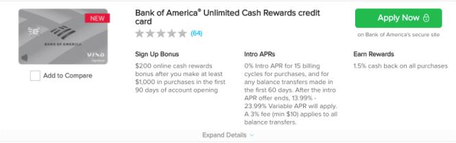 credit card bonus offers