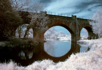 Bridge Over Stour, Canterbury, Kent