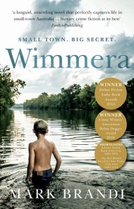 Picture of cover of Wimmera by Mark Brandi