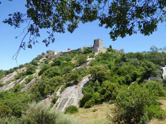 Castellar de la Frontera perched on a hilltop