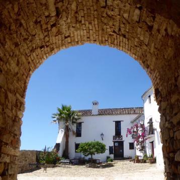 Entrance to Castellar de la Frontera