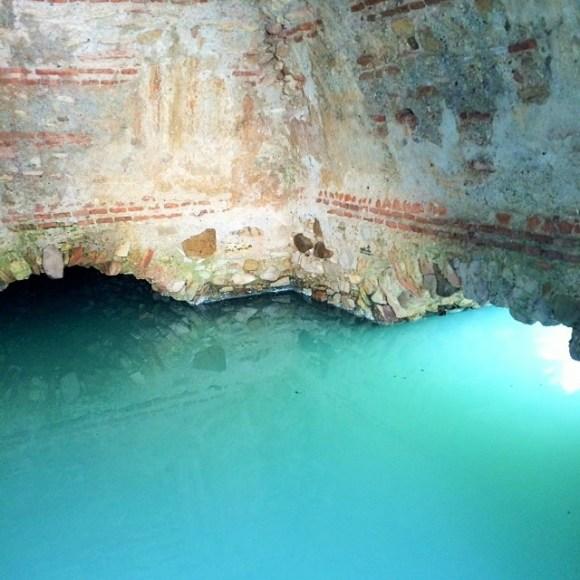 Los Banos de la Hedionda Roman baths