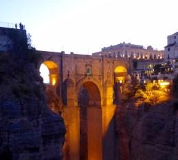 Puente Nuevo at dusk