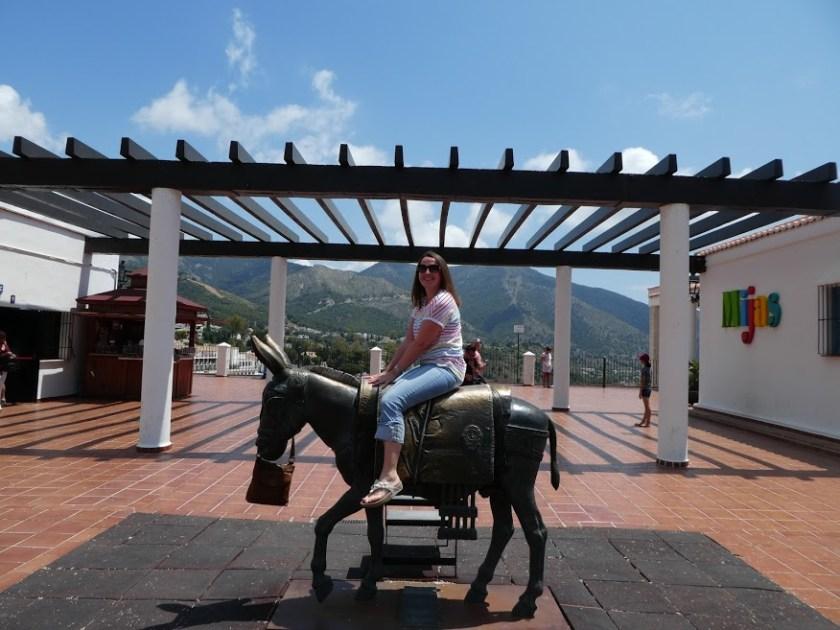 Donkey statue