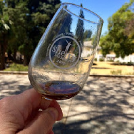 Sherry Marathon Finishers glass