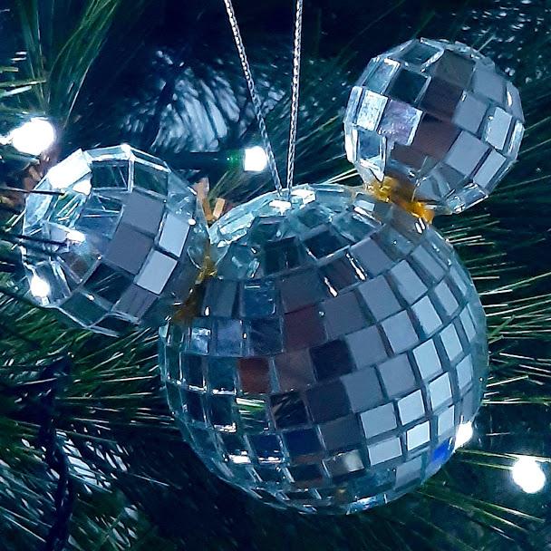 Disco Ball MIckey Mouse