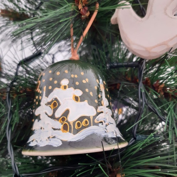 Ghent pottery bell