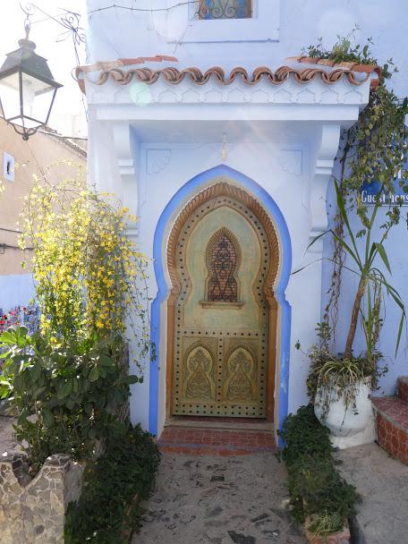 Doorway in Chefchaouen medina
