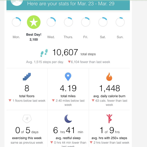 Daily step count