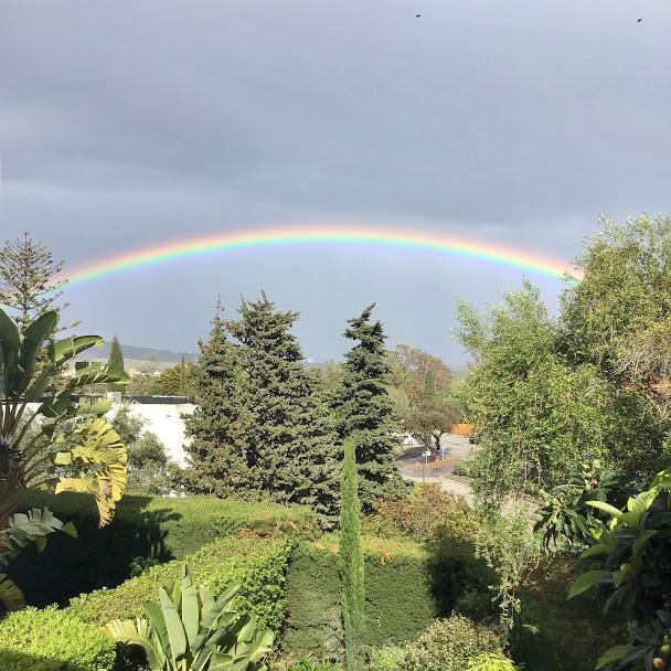 Rainbow over Sotogrande
