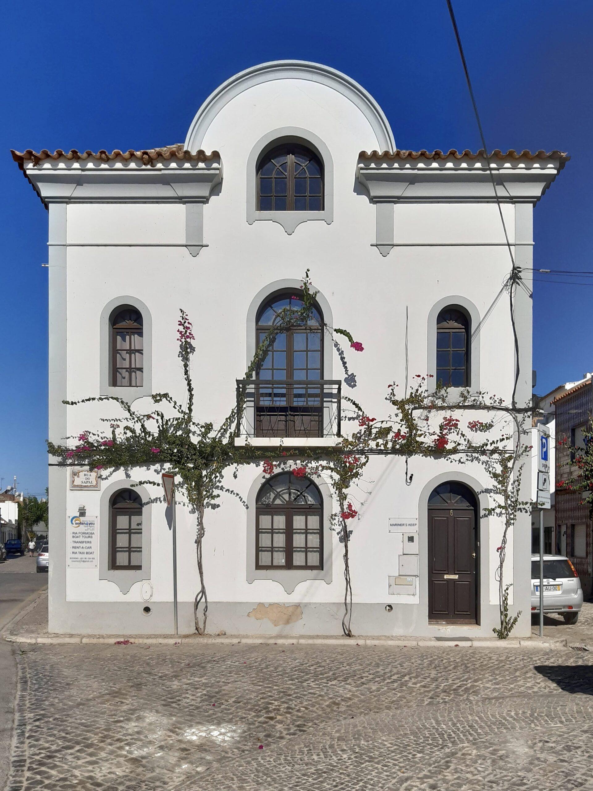 Pretty building in Tavira