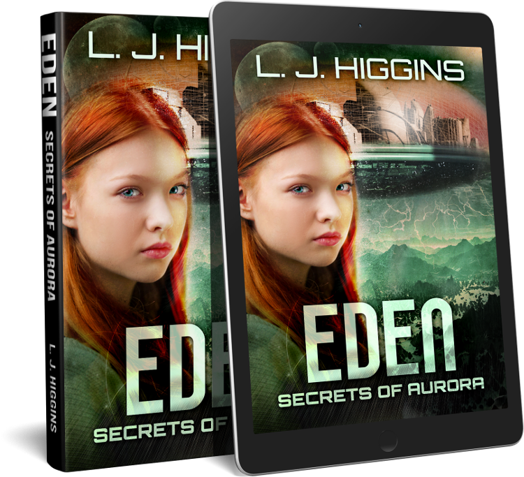 Eden hardback and ereader