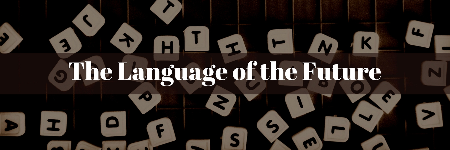 The language of the future