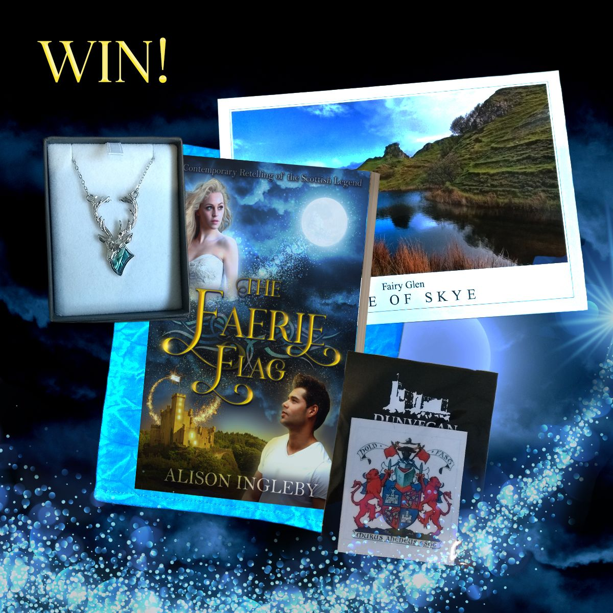 Scottish fantasy romance giveaway