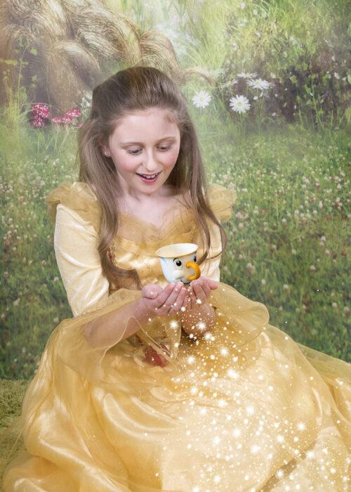 magical princess portrait