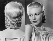 pretty 1930 updo hairstyles