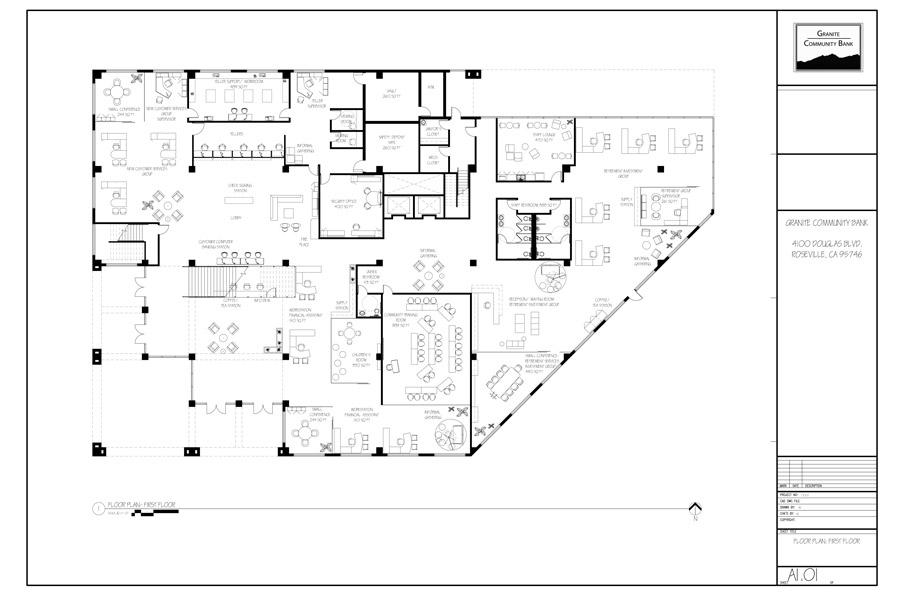 Schematic Design Set: Granite Community Bank Project