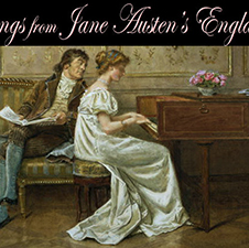 Songs from Jane Austen's England