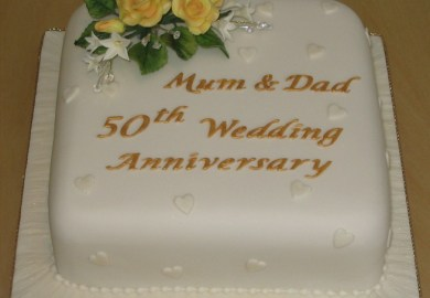 Golden Wedding Anniversary Themes