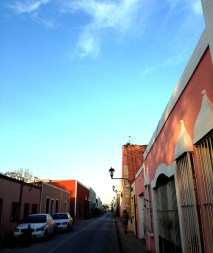 Quiet Sunday streets