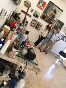 with Samia Farah and Emilio Said