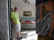 Painter David Aldrich