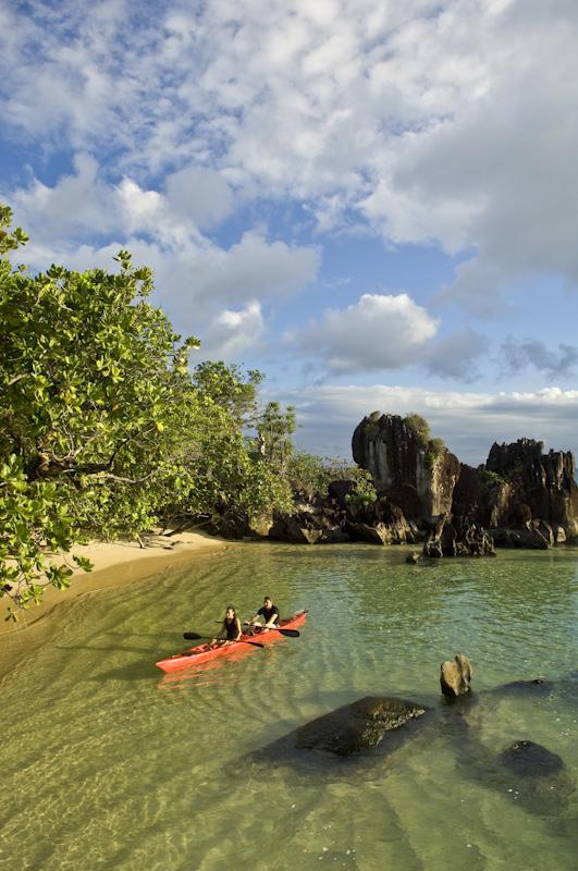 A secret cove on Masoala Peninsula.