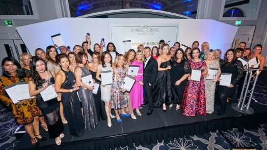 The lovely winners at the BABTAC Innovative Beauty Conference