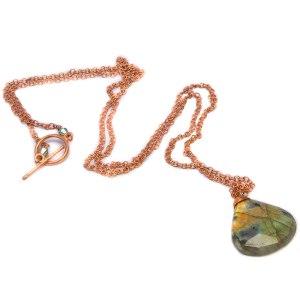 Long Chain Wrap Necklaces