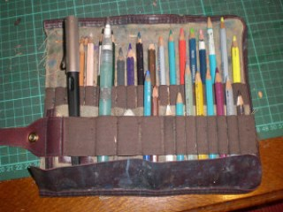 25Aug12 Part two: making my pencil roll by alissa duke
