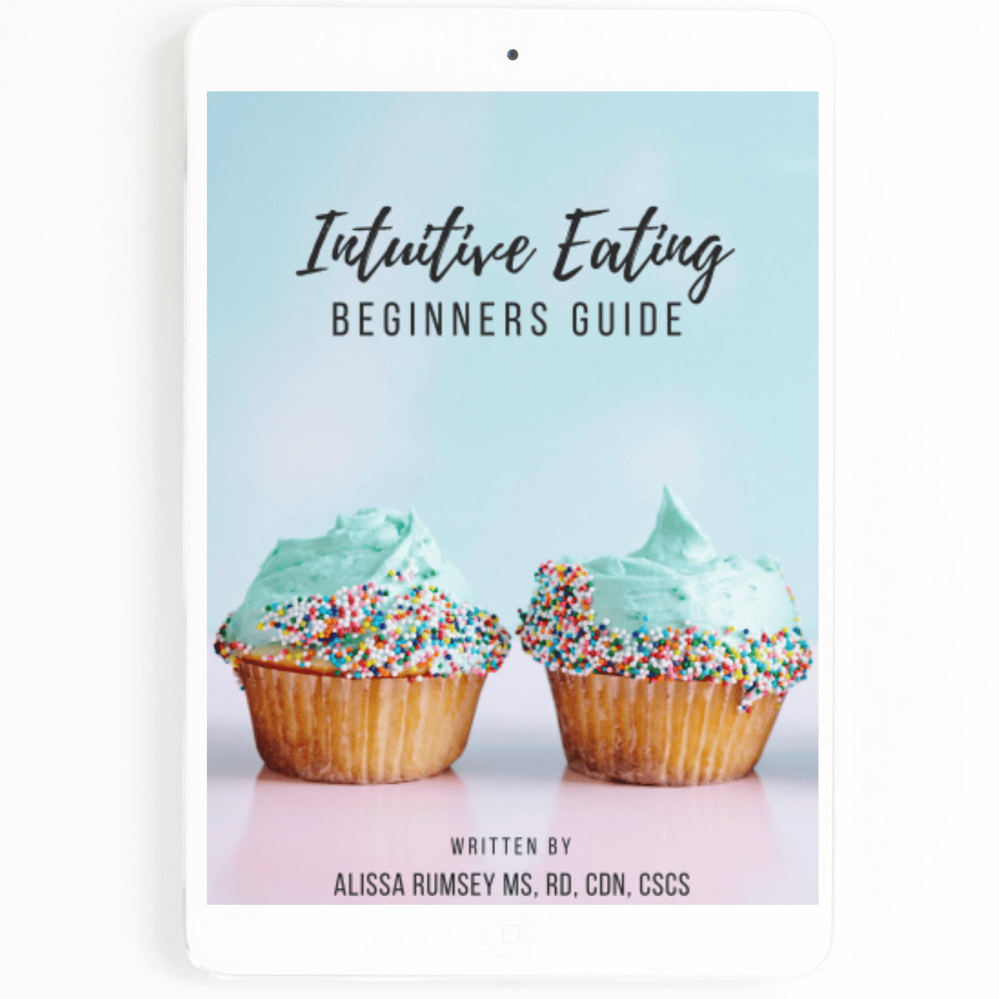 Intuitive Eating Beginners Guide E Book