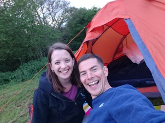 Camping the night before NDW50.